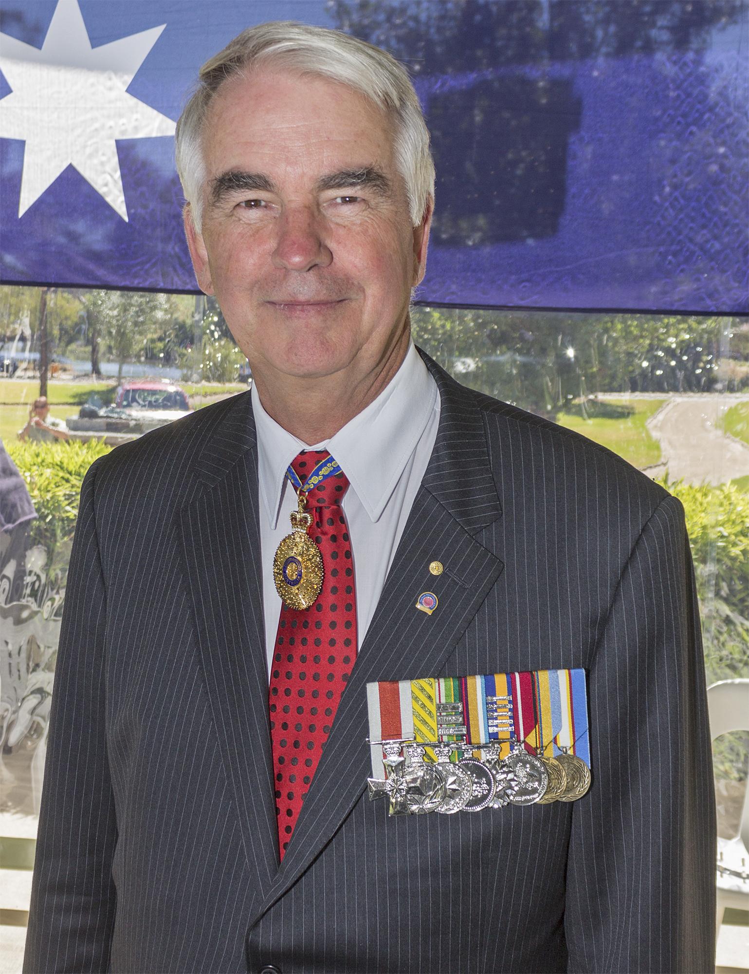 Portrait of Ken Gillespie