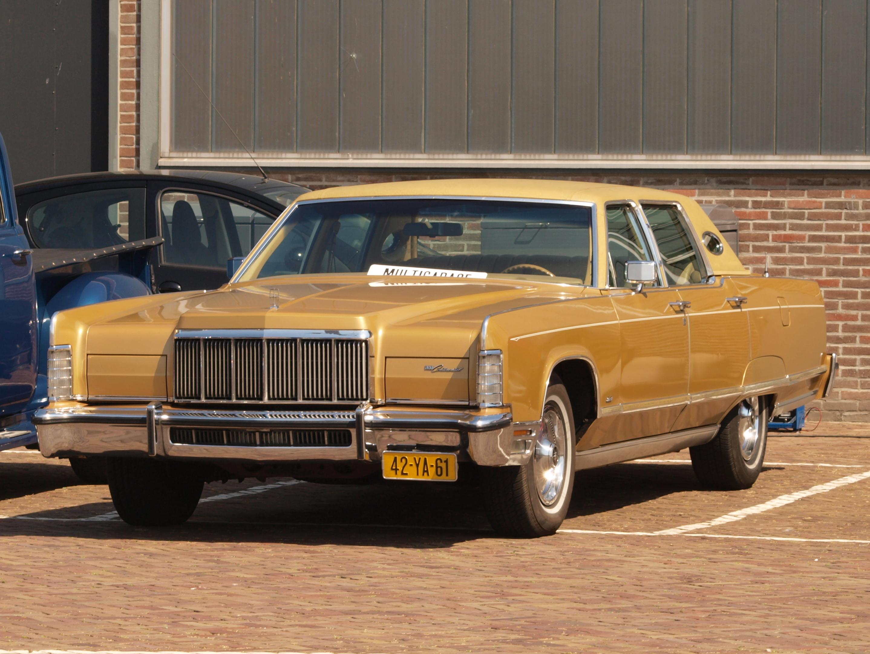 Lincoln_Continental_(1972),_Dutch_licenc