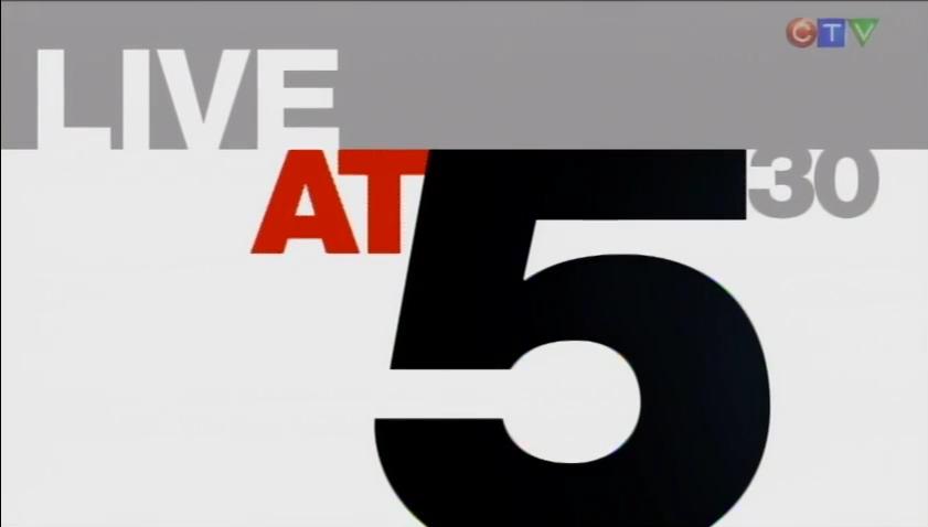 live at 5 30  cp24 tv series