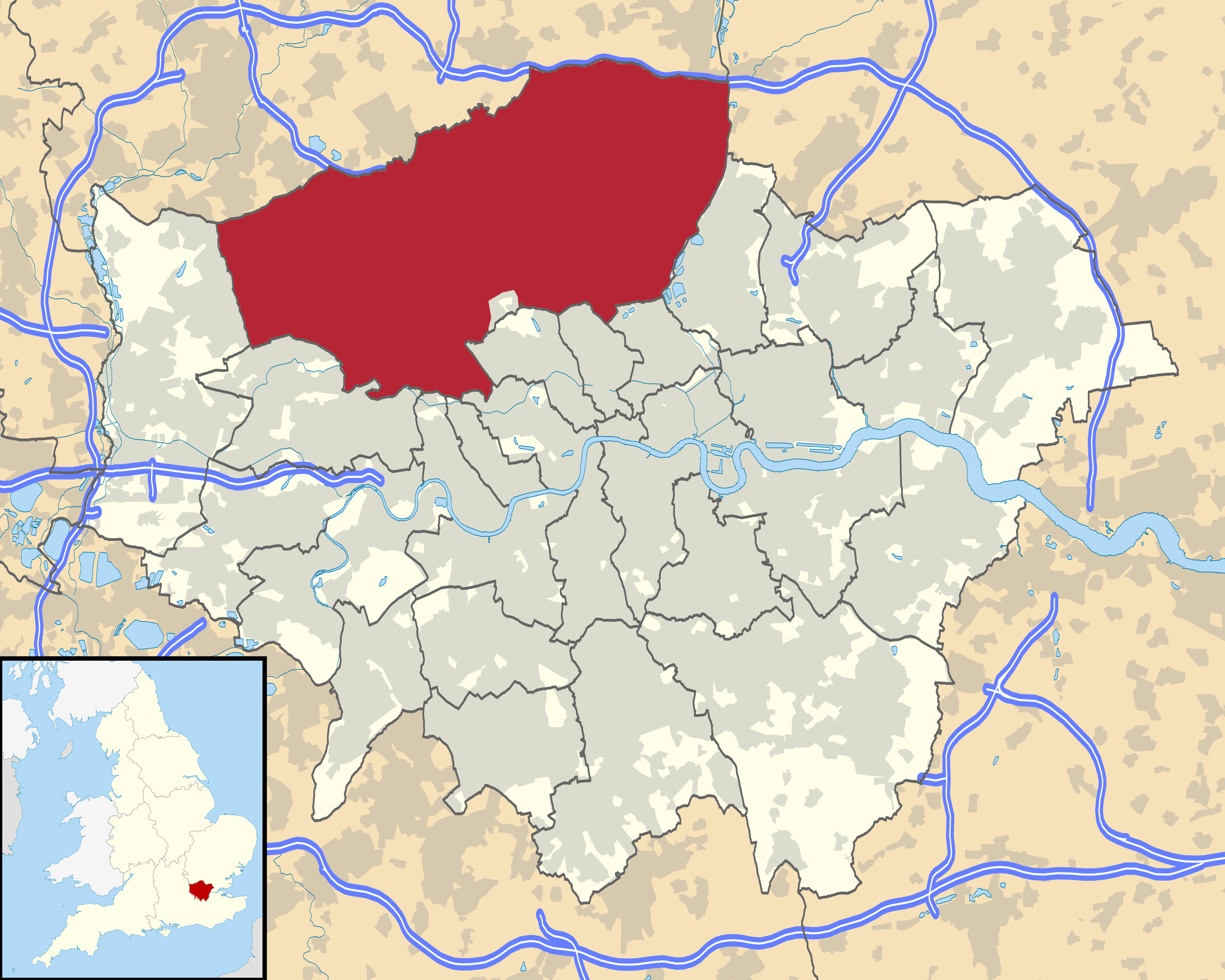 North Of London Map.File London Wikivoyage City Regions Maps North London Png