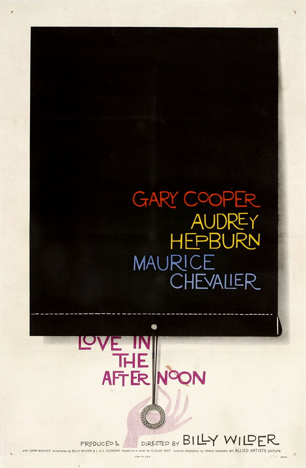 Love in the Afternoon (1957 film) - Wikipedia