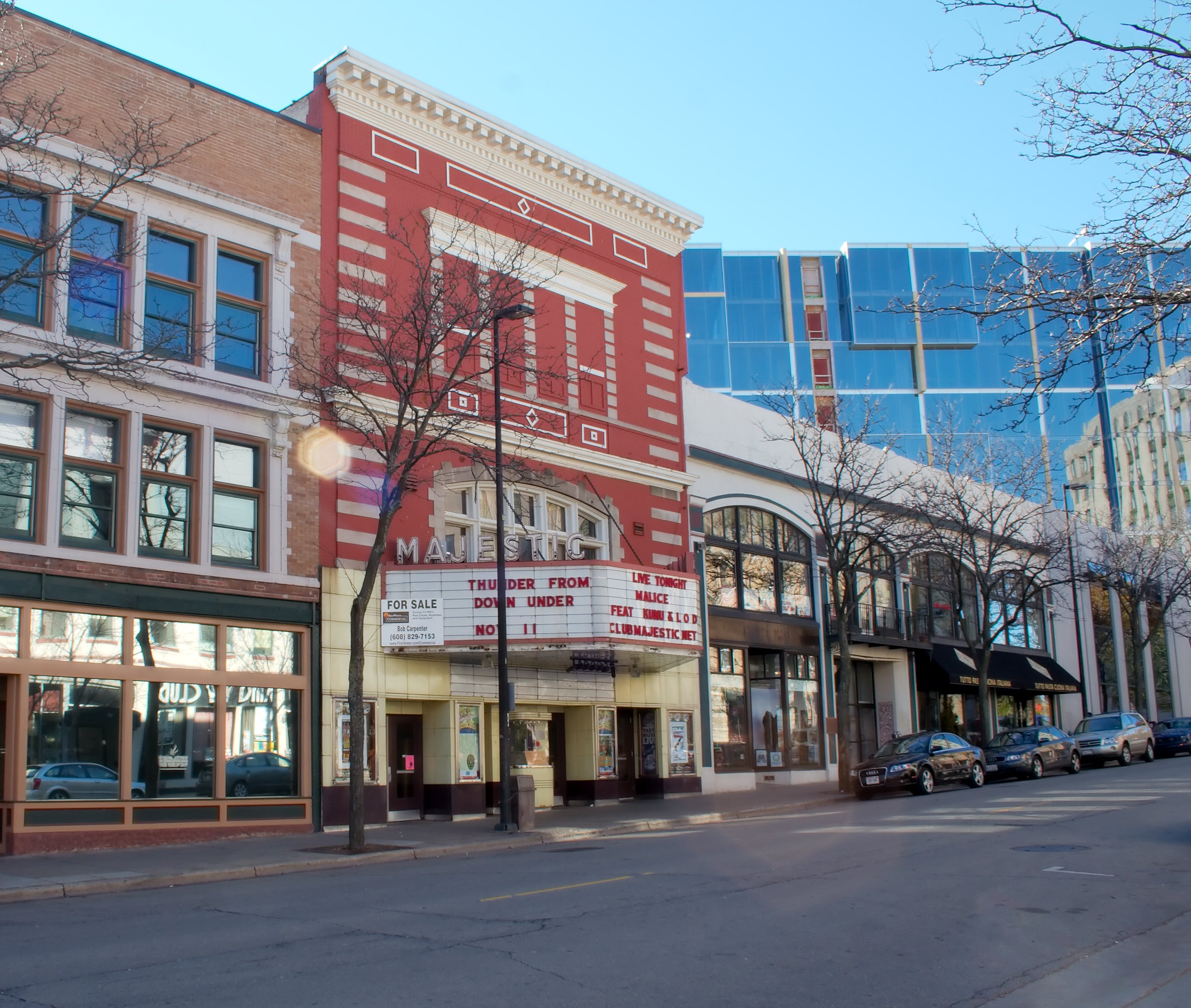 Movie theater in madison wisconsin