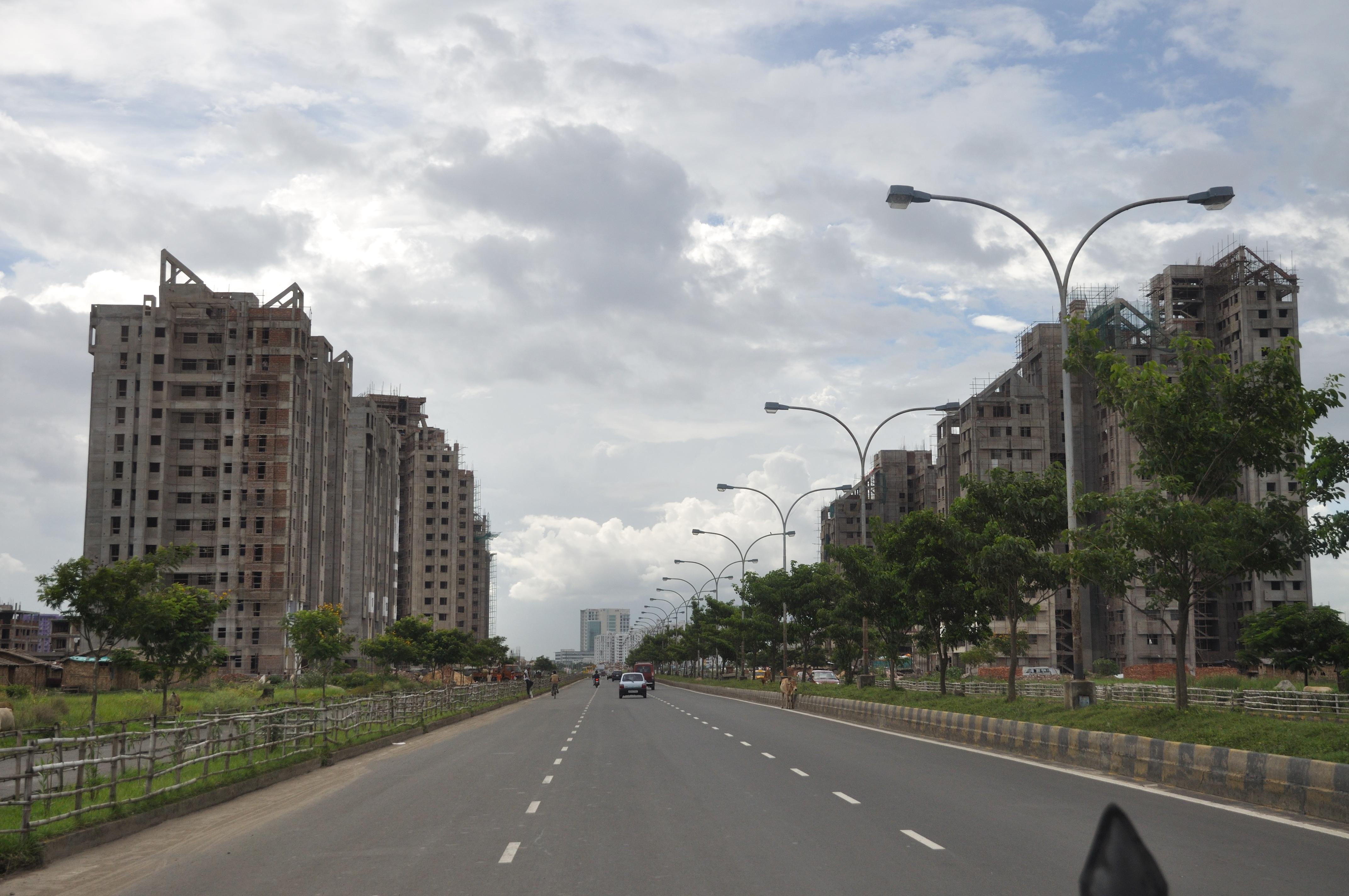 Major Arterial Road - Rajarhat 7499.JPG