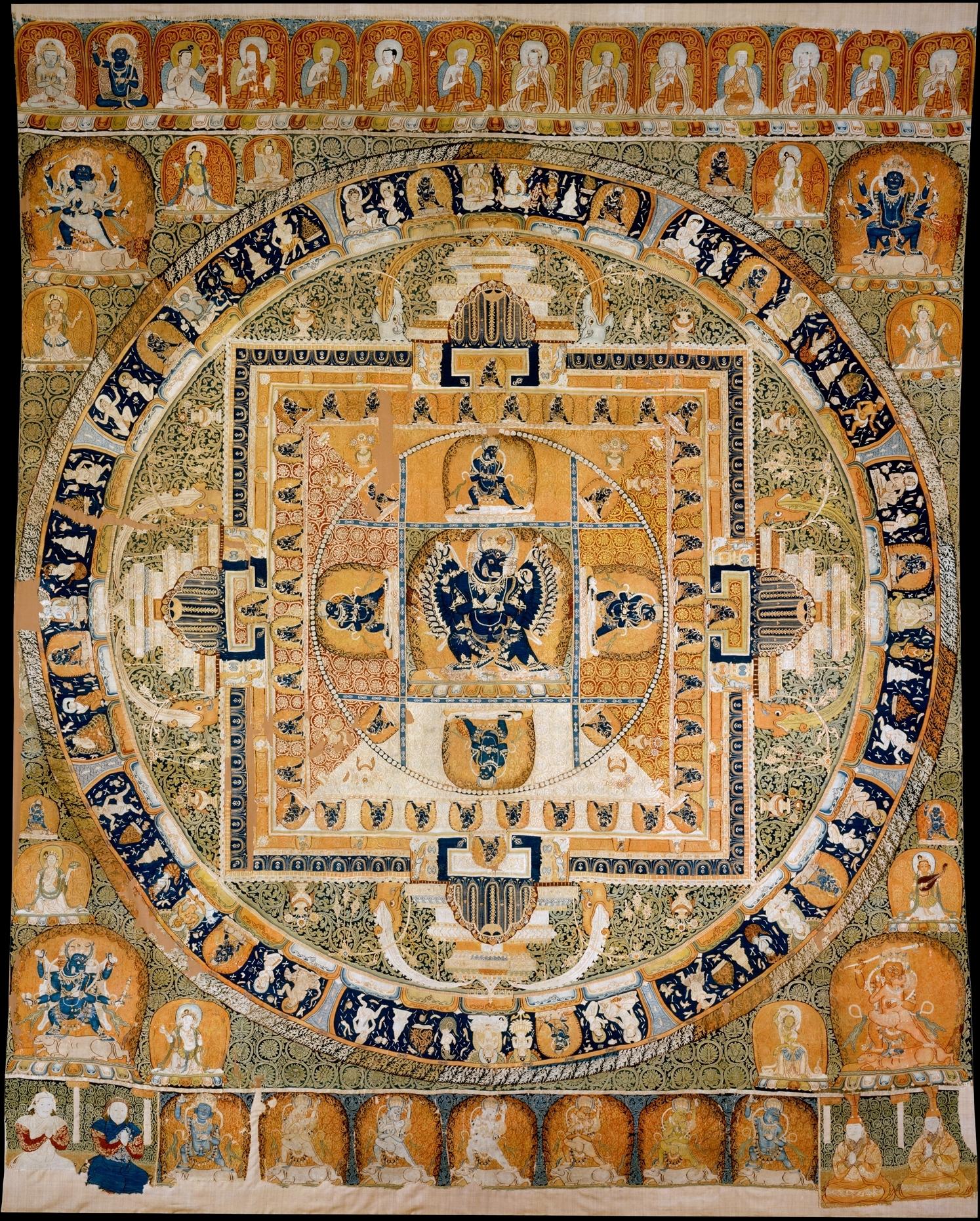 mandala of vajrabhairava Yamantaka mandala (overcoming death mandala) a mandala, or circle, is a representation of the buddhist universe these cosmograms represent in symbolic color, line.