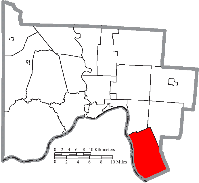 Green Township Ohio Map.File Map Of Scioto County Ohio Highlighting Green Township Png