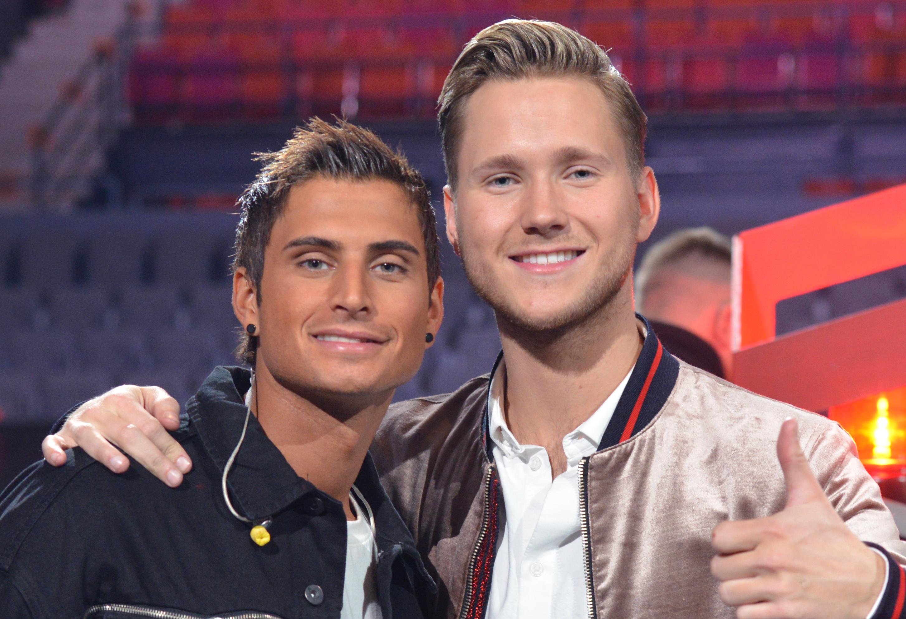 Fil:Melodifestivalen 2018, Samir & Viktor (crop 2).jpg