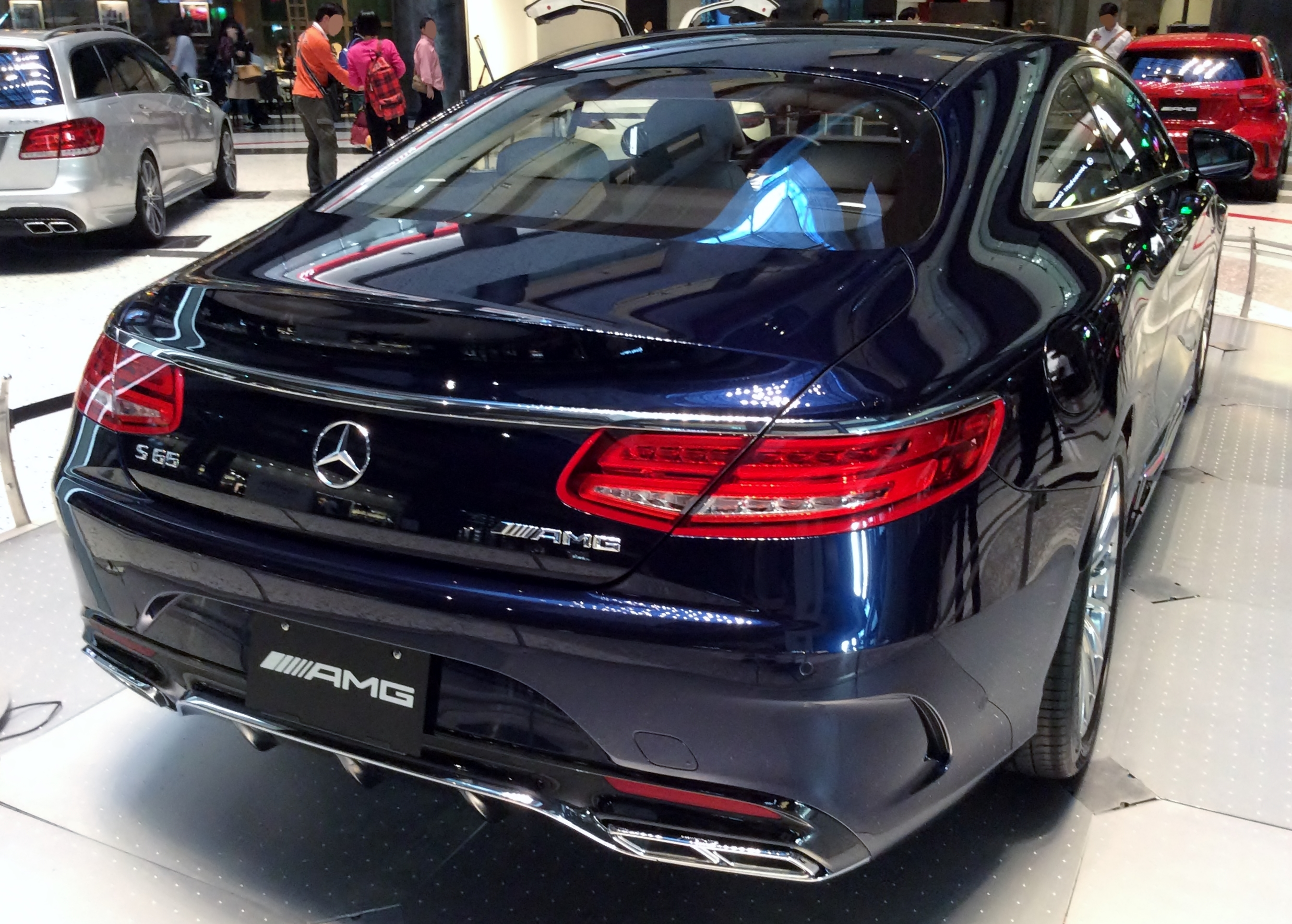 File Mercedes Benz S65 Amg Coup 233 C217 Rear Jpg