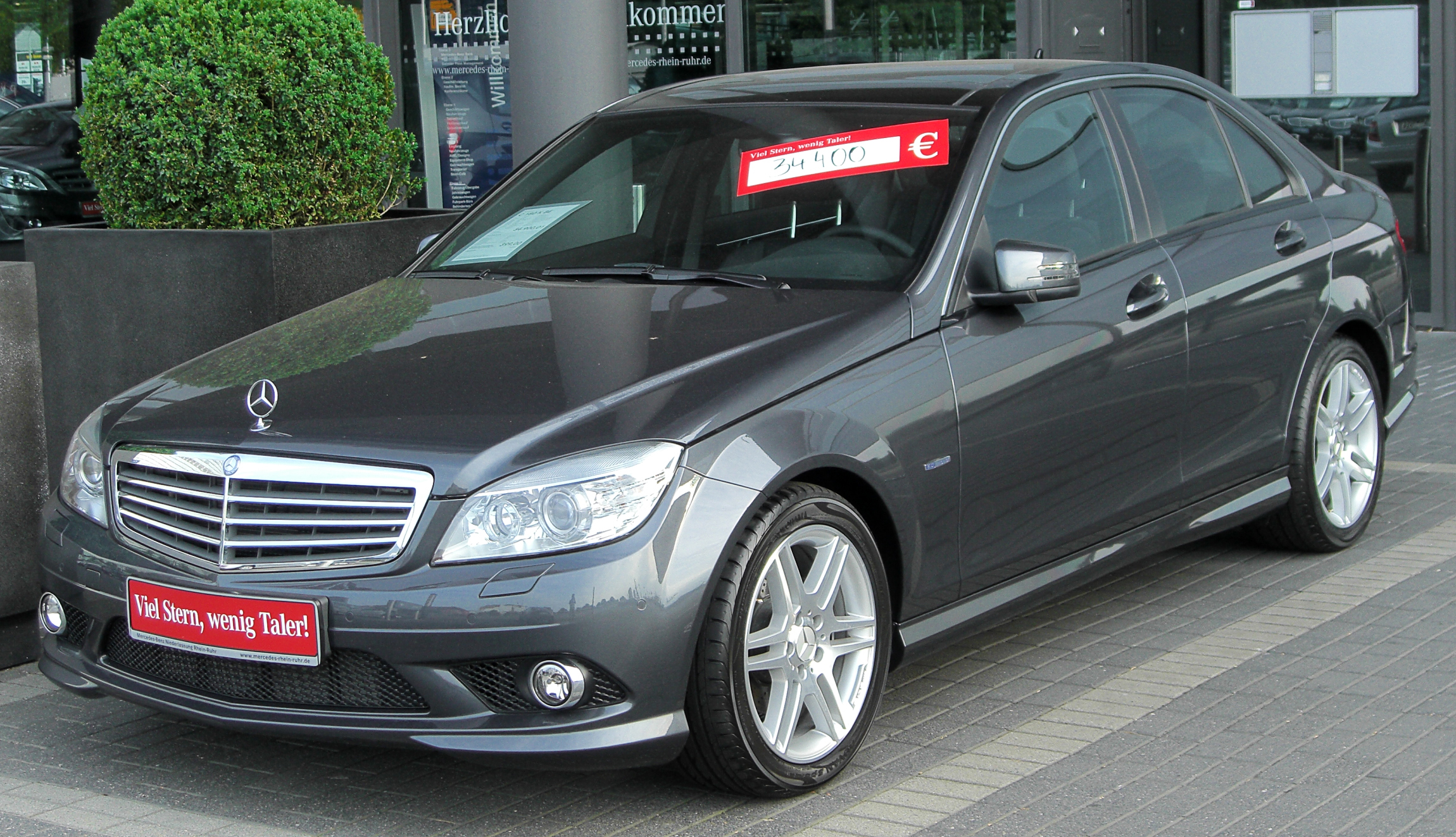 File Mercedes C 180 Kompressor Blueefficiency Elegance Amg