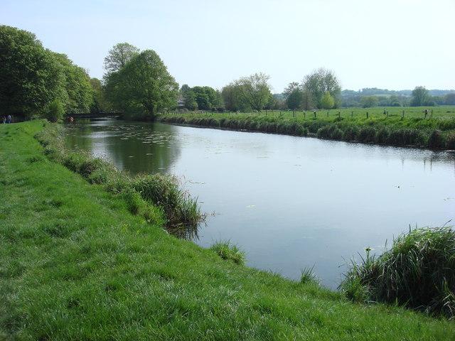 Mill Stream, Sudbury - geograph.org.uk - 1023057