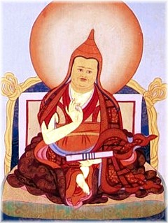 Jamgön Ju Mipham Gyatso master of the Nyingma lineage of Tibetan Buddhism and leader of Ri-me movement