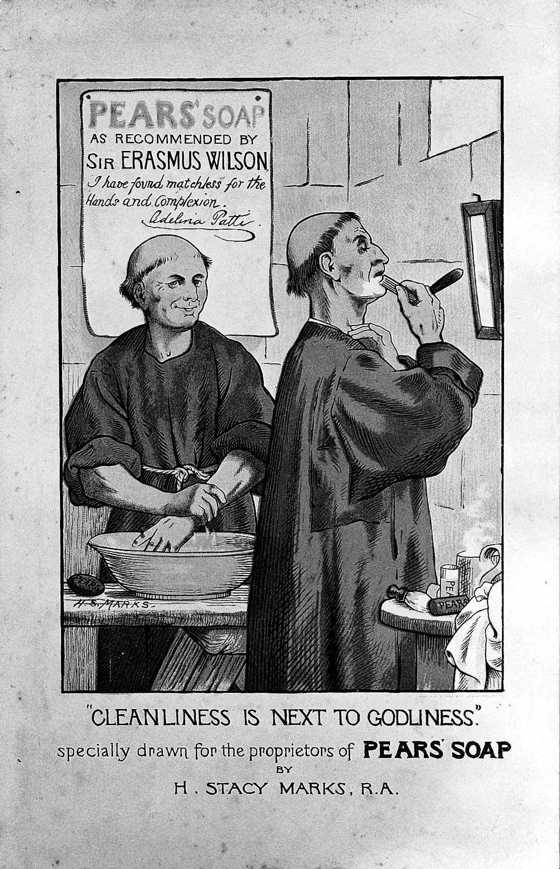 [Imagem: Monks_shaving_with_Pears%27_shaving_soap...026156.jpg]