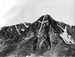 Mount of the Holy Cross, photographed by William Henry Jackson in 1874 Mount of the Holy Cross.jpeg