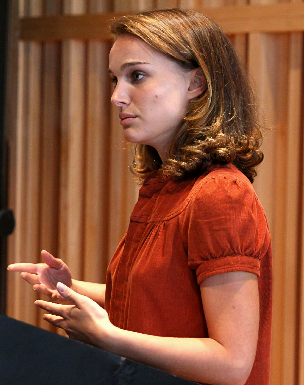 File:Natalie Portman at Columbia University.jpg ... Natalie Portman Wikipedia