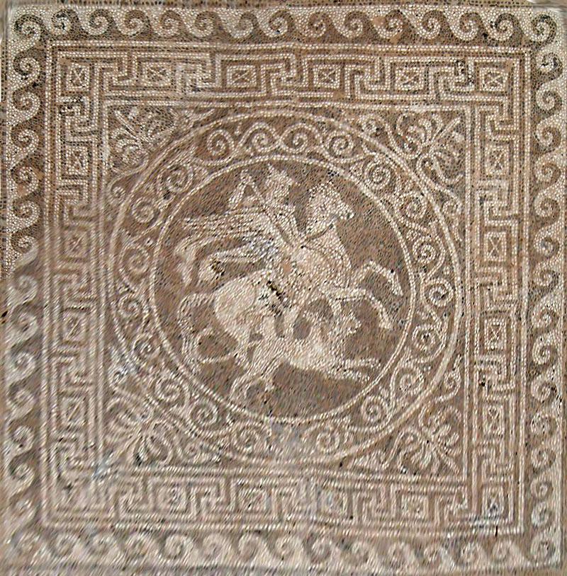 Mosaic Kitchen Floor