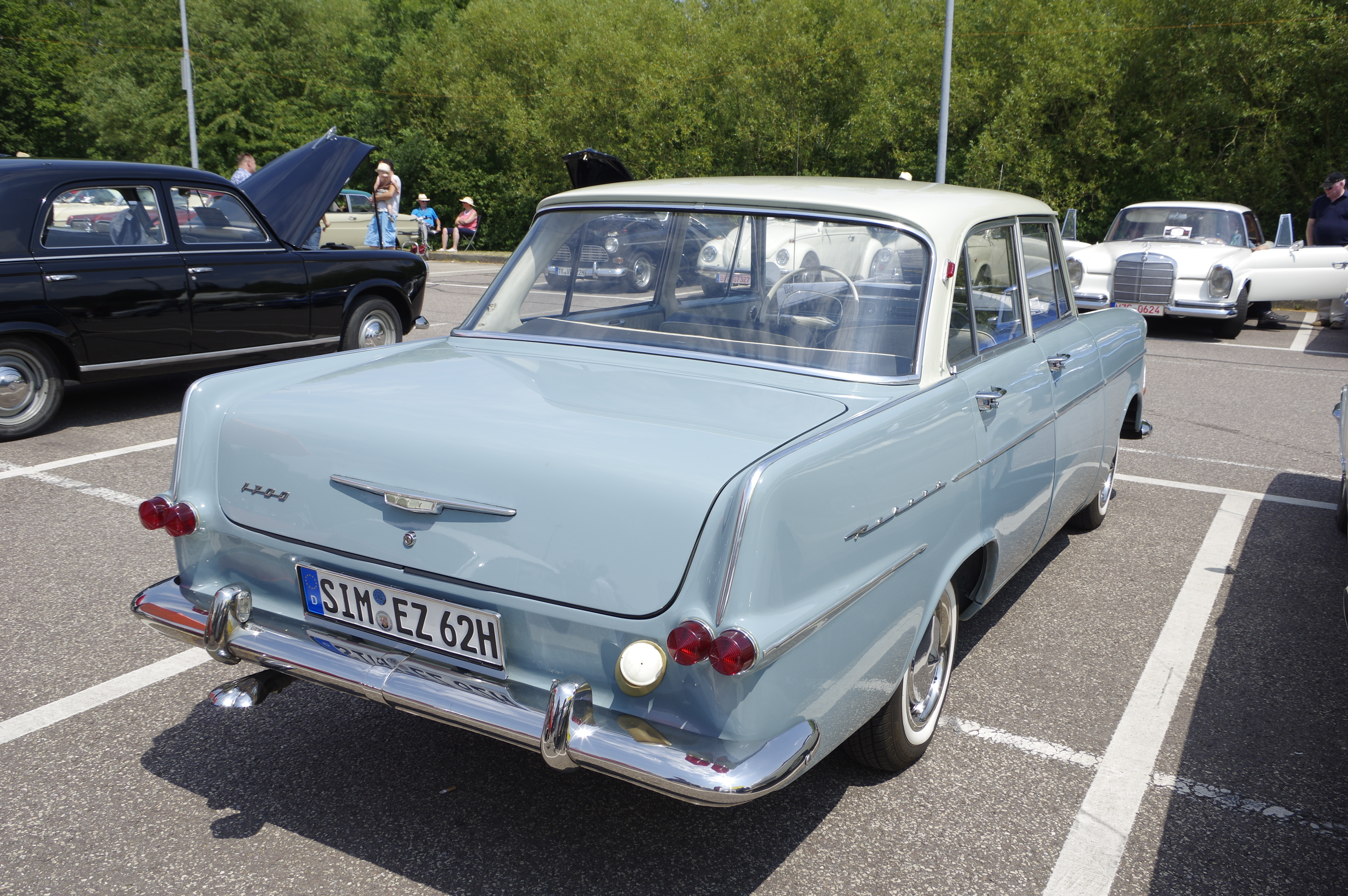 File Opel Rekord P2 Bw 2018 07 15 12 50 59 Jpg Wikimedia Commons