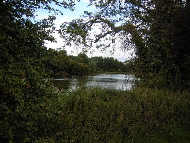 Ornamental lake at Shardloes - geograph.org.uk - 1456153