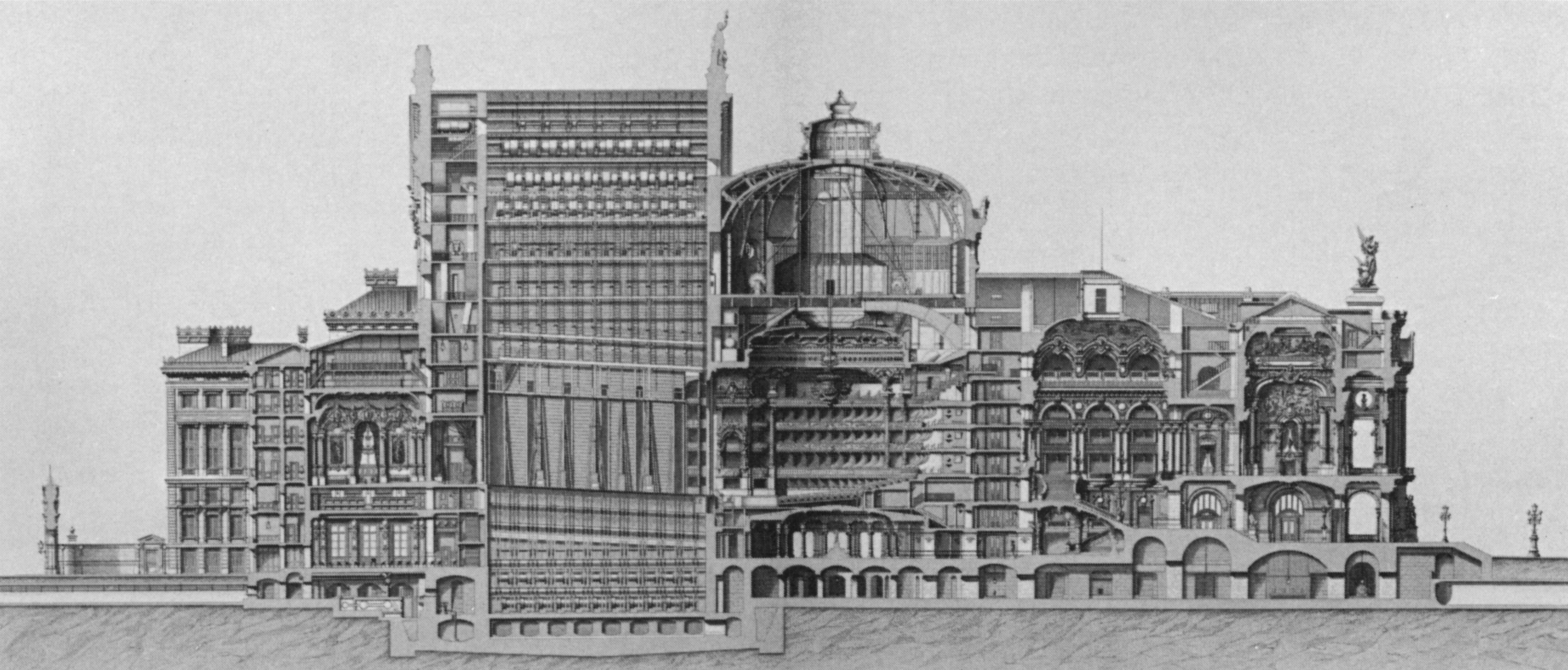 File:Palais Garnier long section - Mead 1991 p101.jpg ...