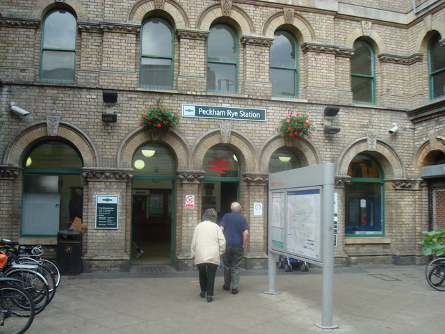 Peckham Rye Railway Station Geograph Org Uk