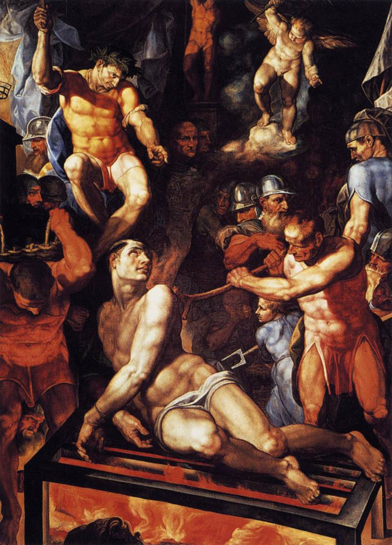 Image result for the martyrdom of st lawrence tibaldi