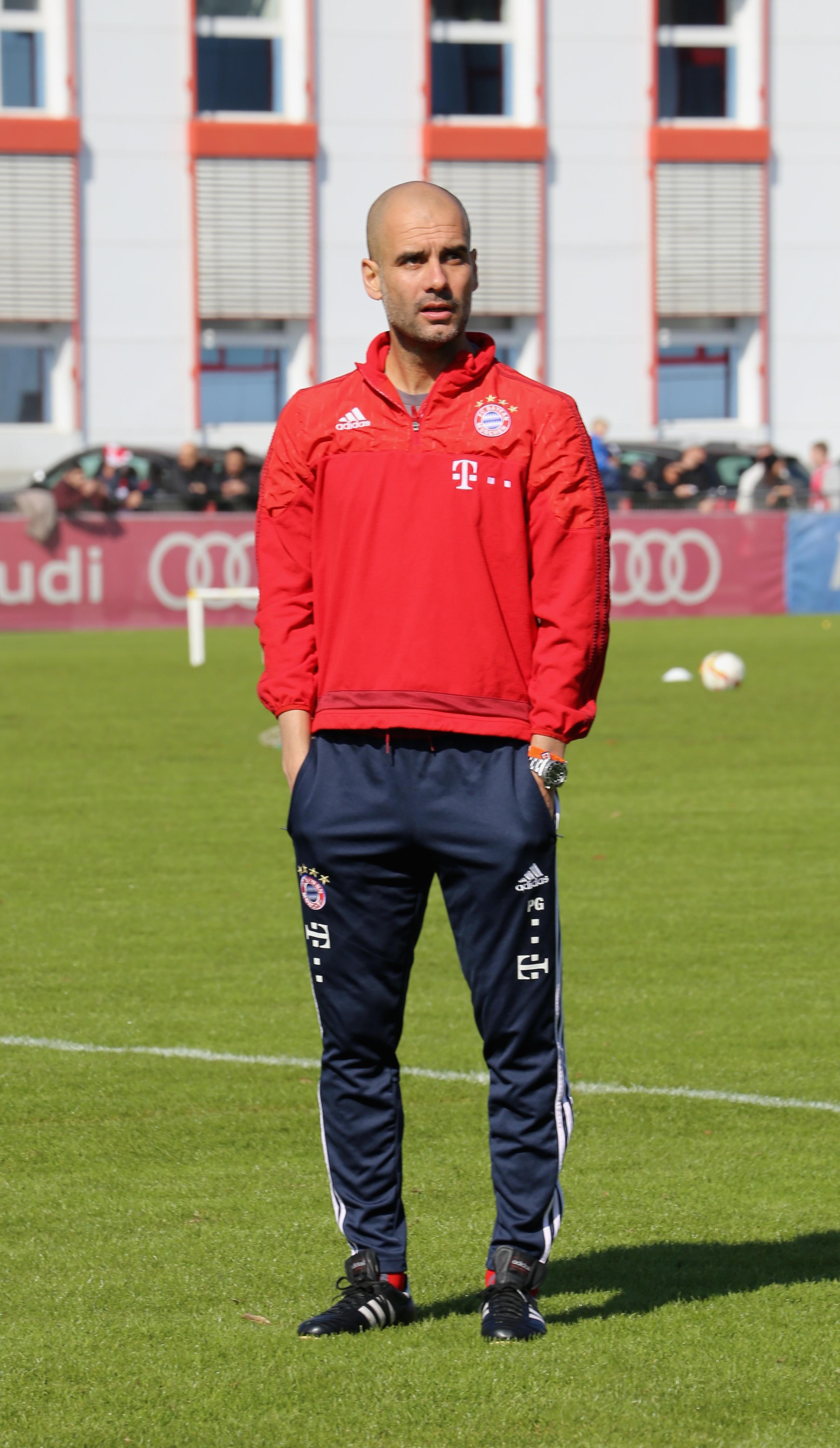 Trainer Pep Guardiola