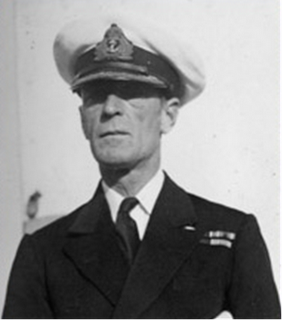 Philip Vian Royal Navy admiral of the fleet