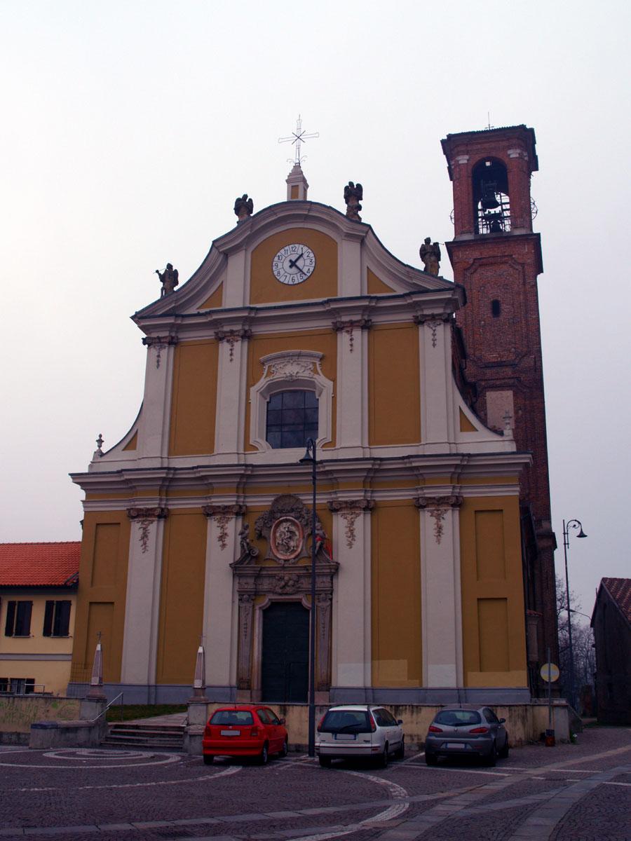 Pieve Emanuele Italy  city images : Descrizione Pieve Emanuele MI Chiesa parrocchiale Sant'Alessandro ...