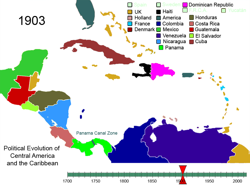 File:Political Evolution of Central America and the ...