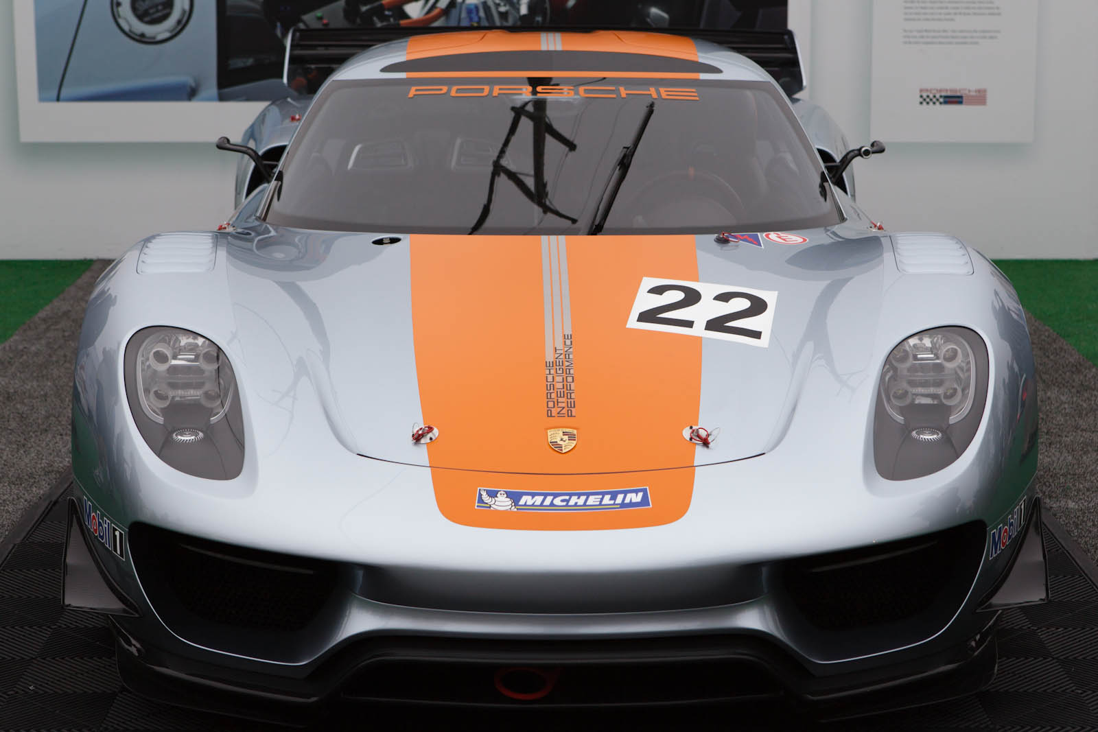 File Porsche 918 Rsr Front View At The Porsche Rennsport Reunion Iv In 2011 Jpg Wikimedia Commons