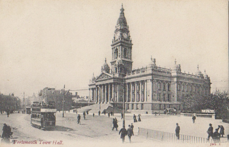 File:Portsmouth Town Hall, ca. 1904.png