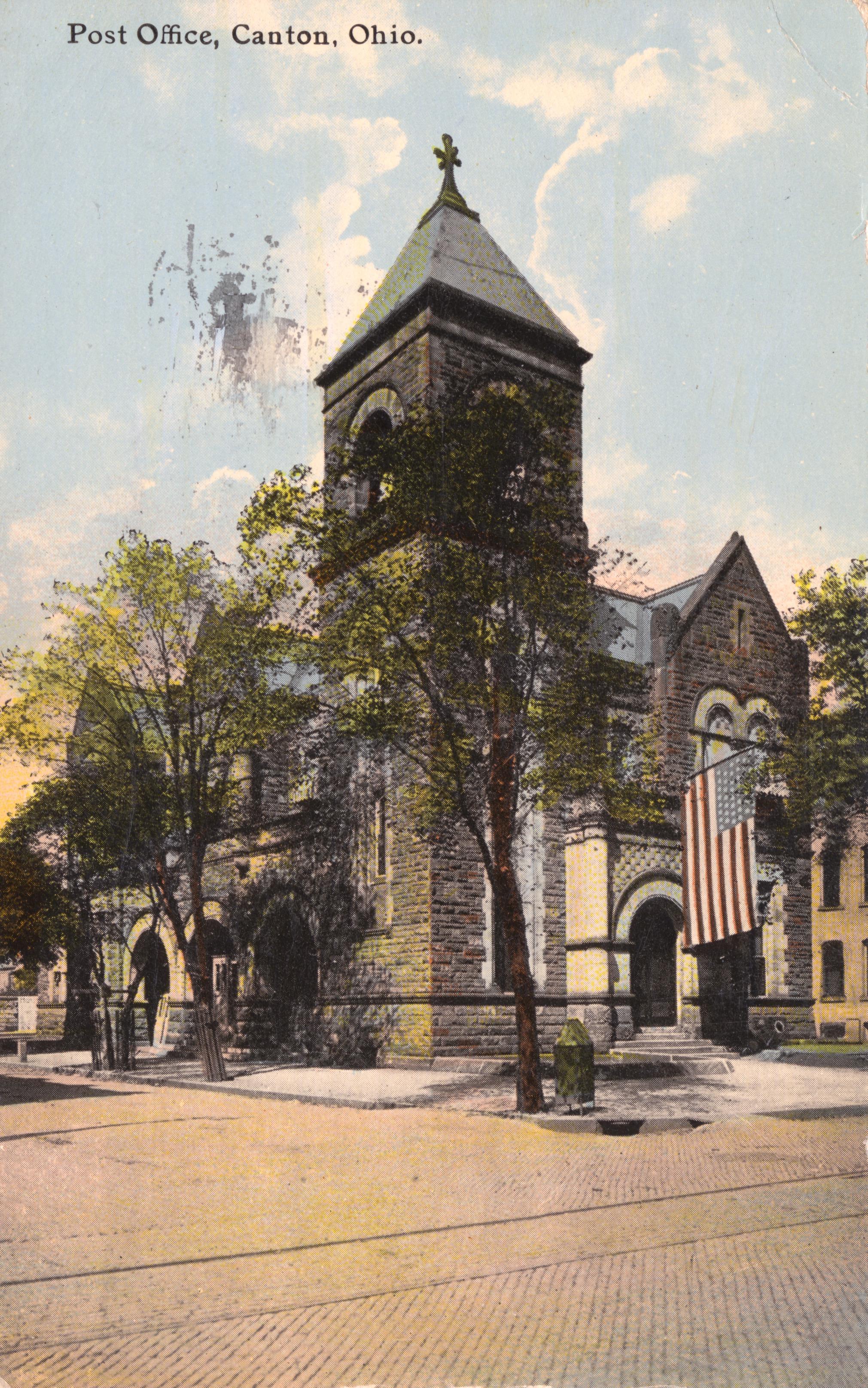 File:Post Office, Canton, Ohio. (14091337824)
