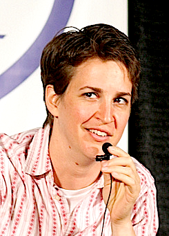 Rachel Maddow in Seattle.