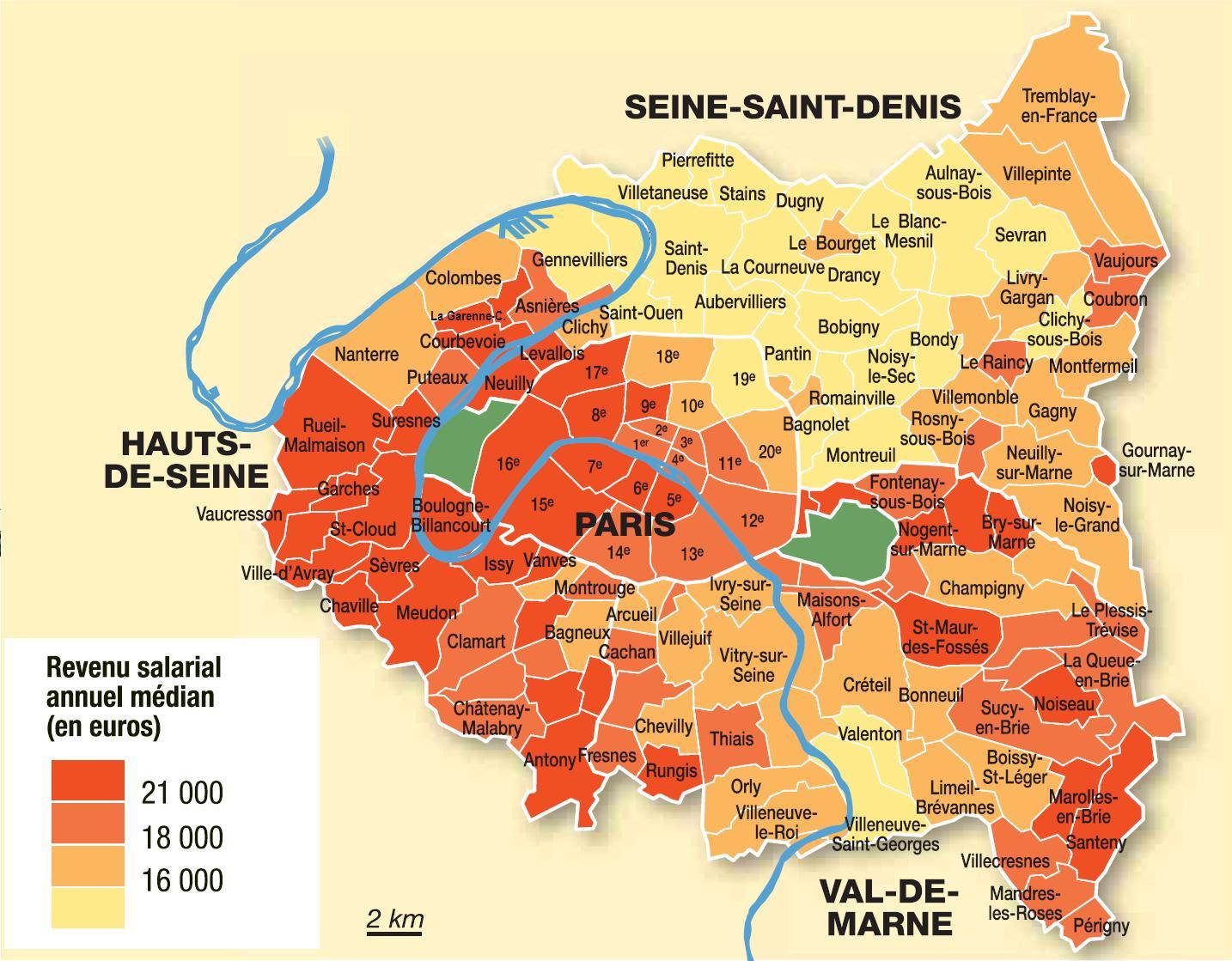 plan banlieue parisienne