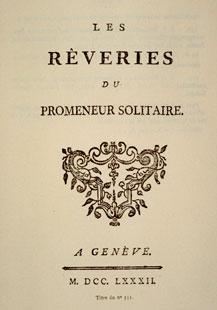 <i>Reveries of a Solitary Walker</i> book