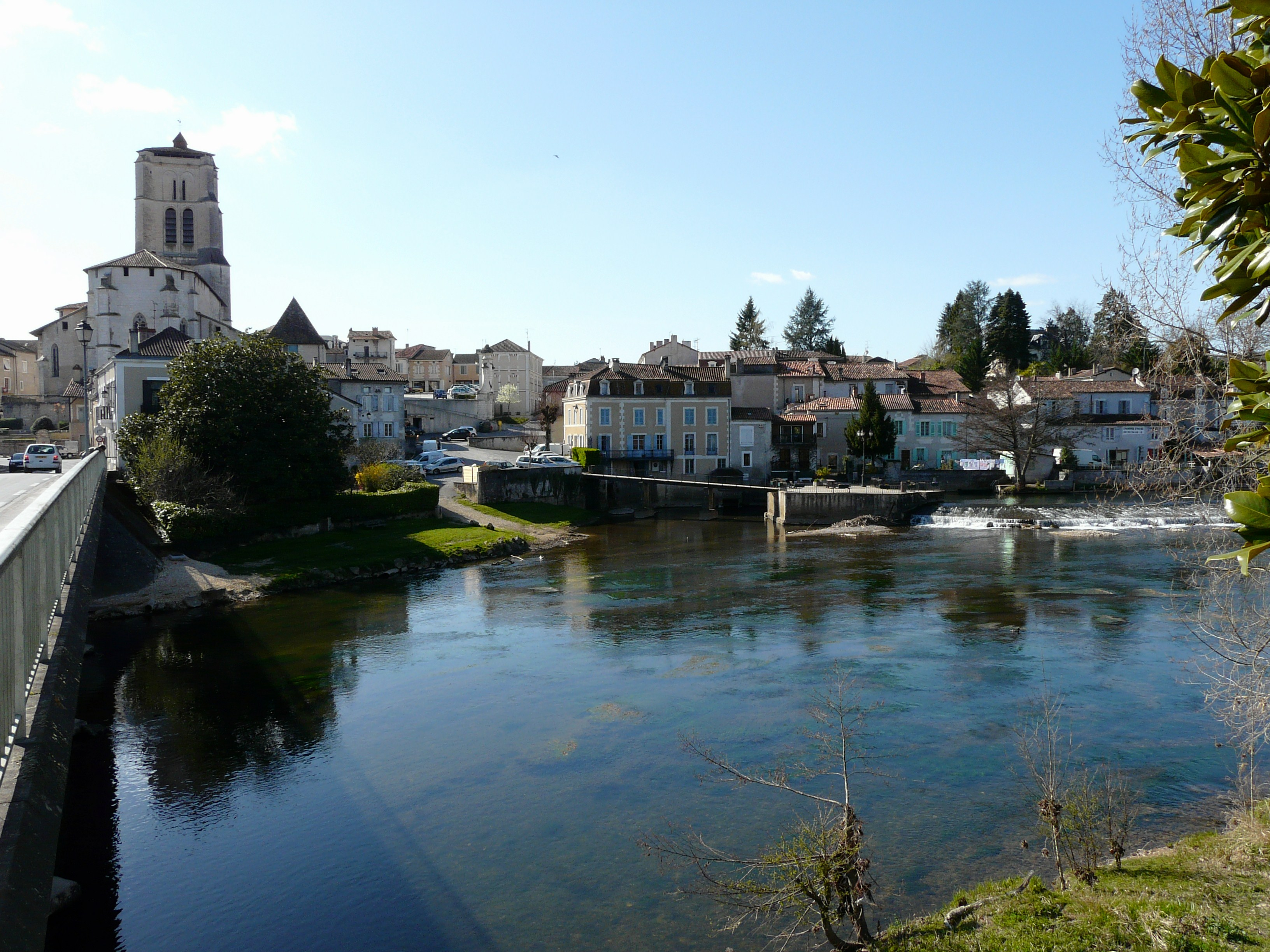 L'Isle à Saint-Astier.
