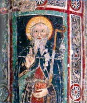 Saint Columbanus.