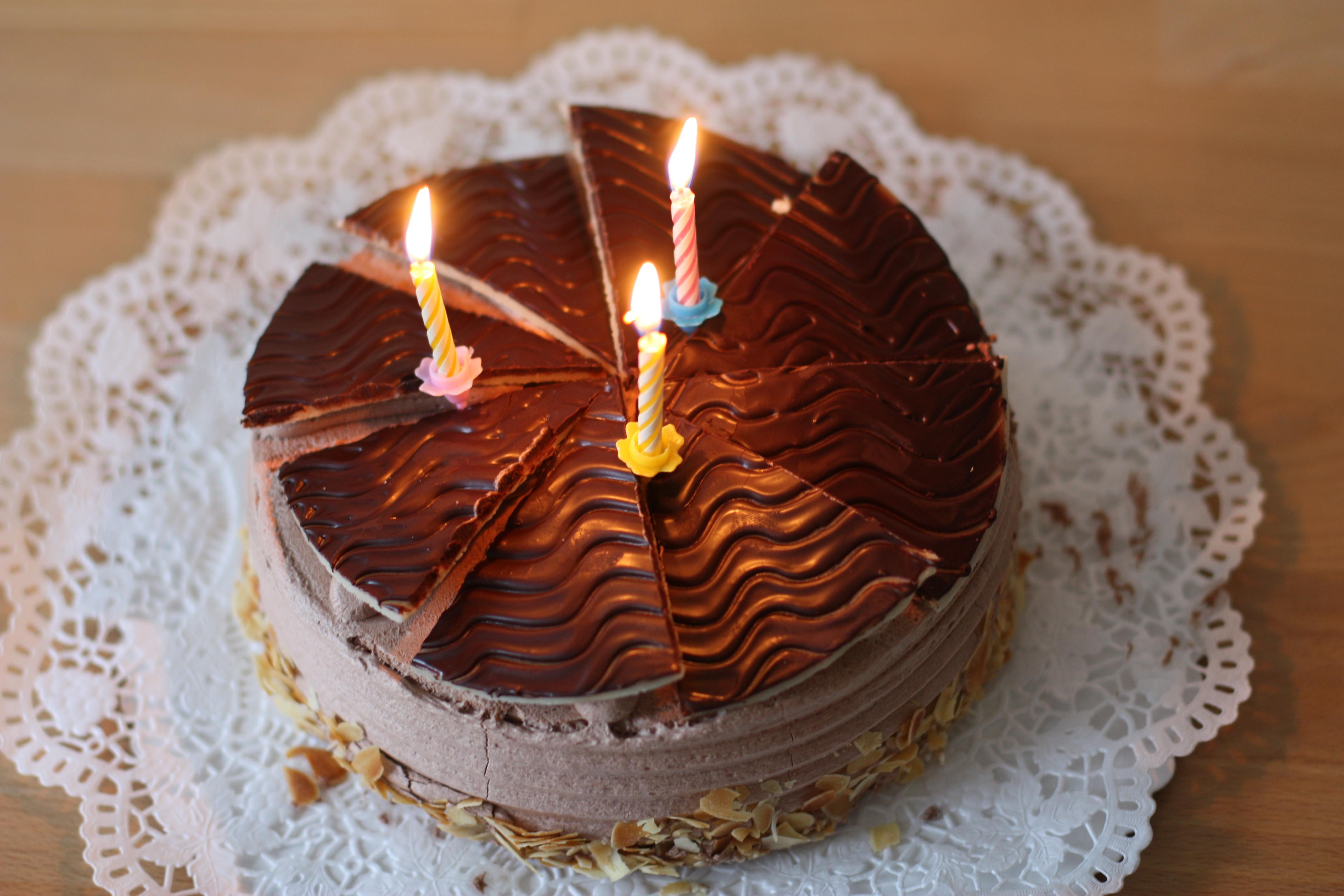 File Schokoladentorte Buttercreme Tulpen Dritter Geburtstag 006 Jpg