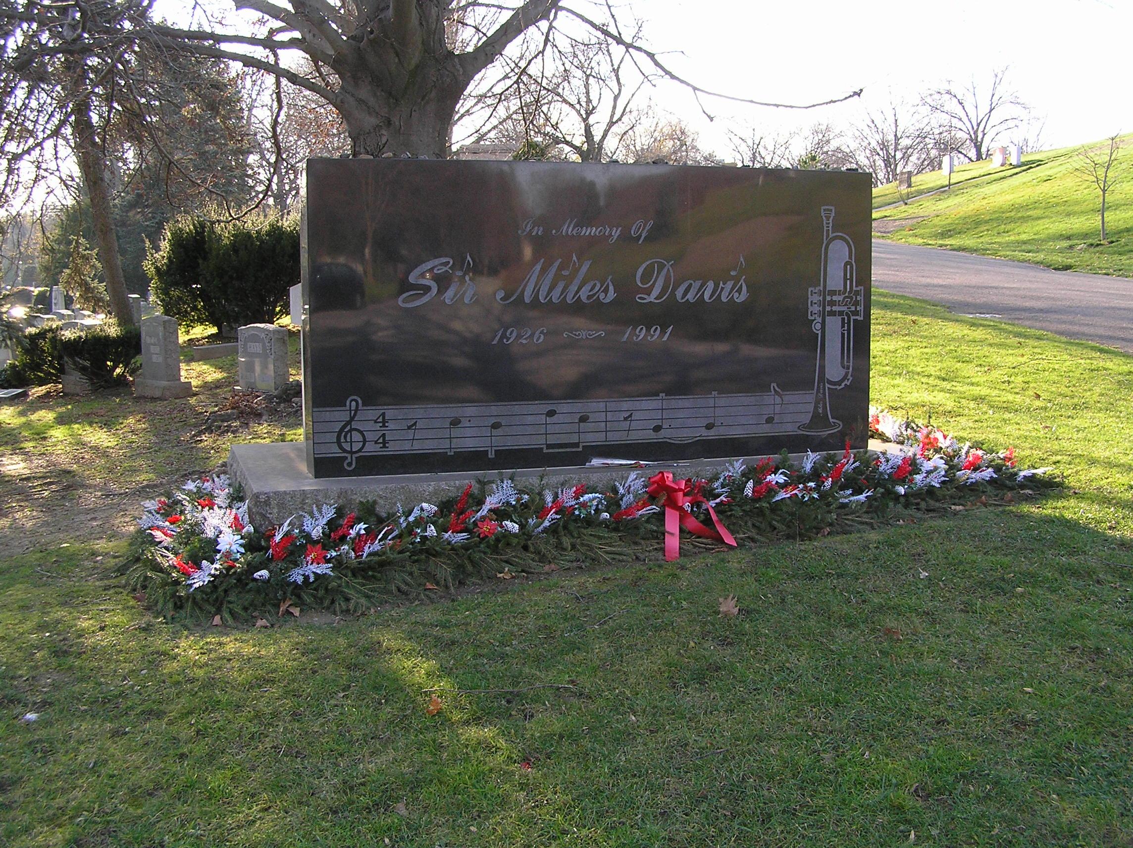 Grab von Miles Davis