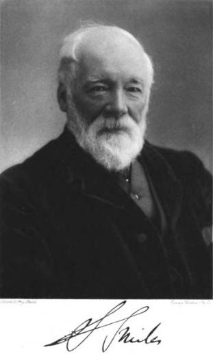 English: Photograph of Samuel Smiles the autho...