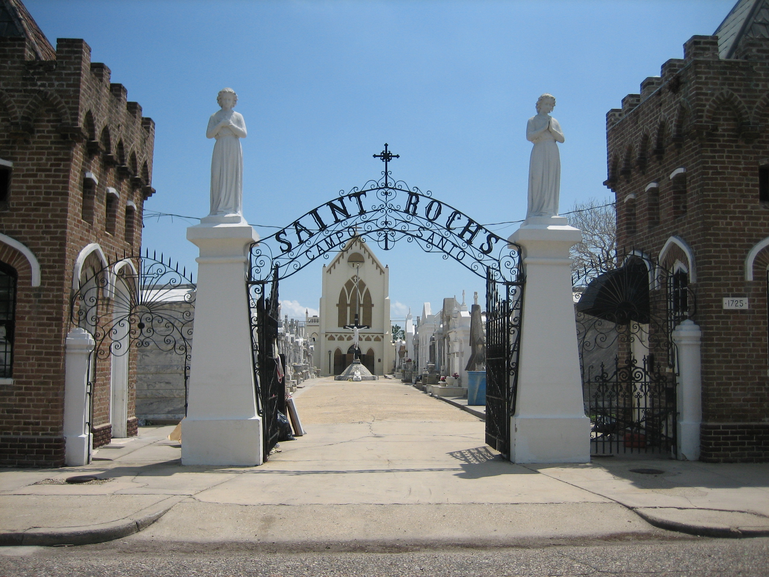 Image result for saint roch's chapel new orleans