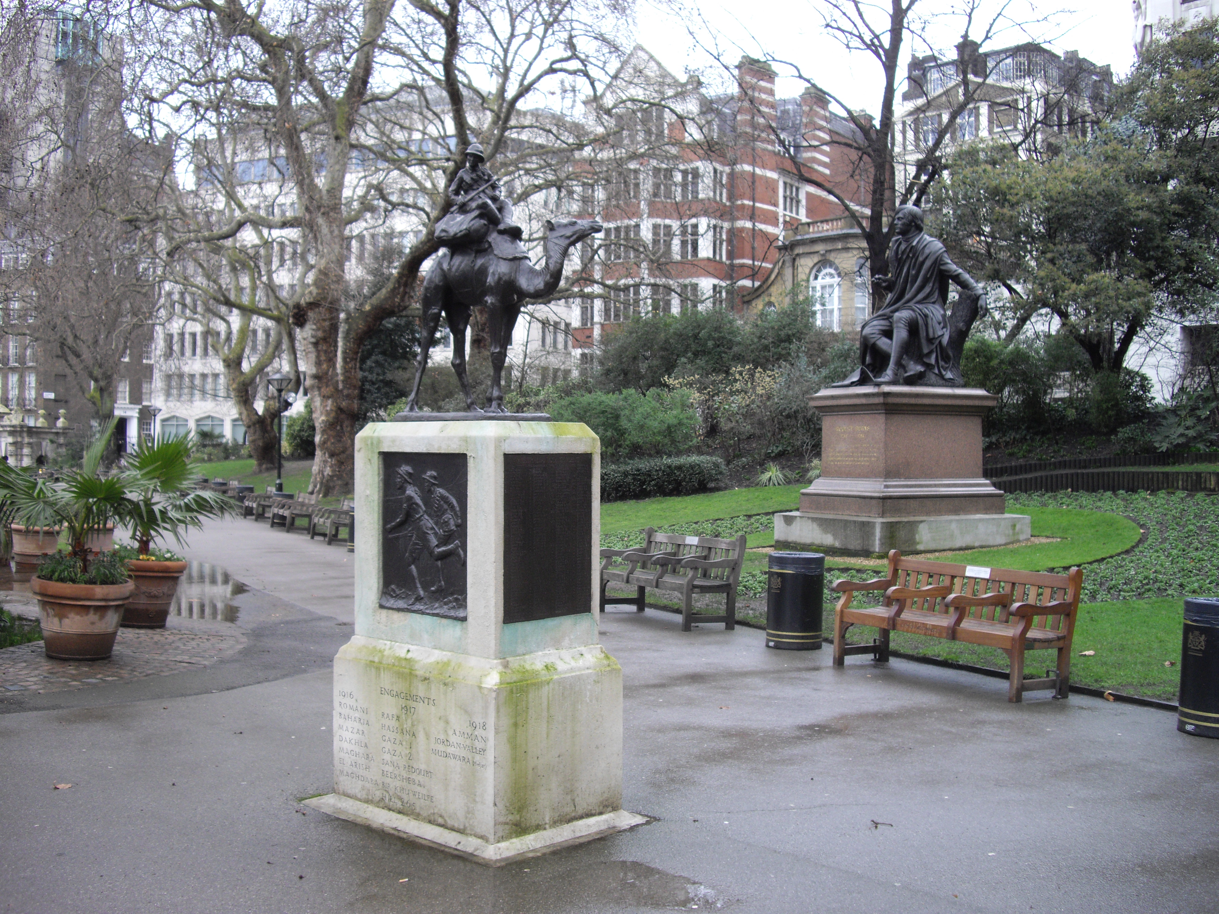 File Statues In Victoria Embankment Gardens Geograph Org Uk