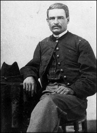 First Negro Commissioned officer from the Civil War, 54th Mass. Volunteers