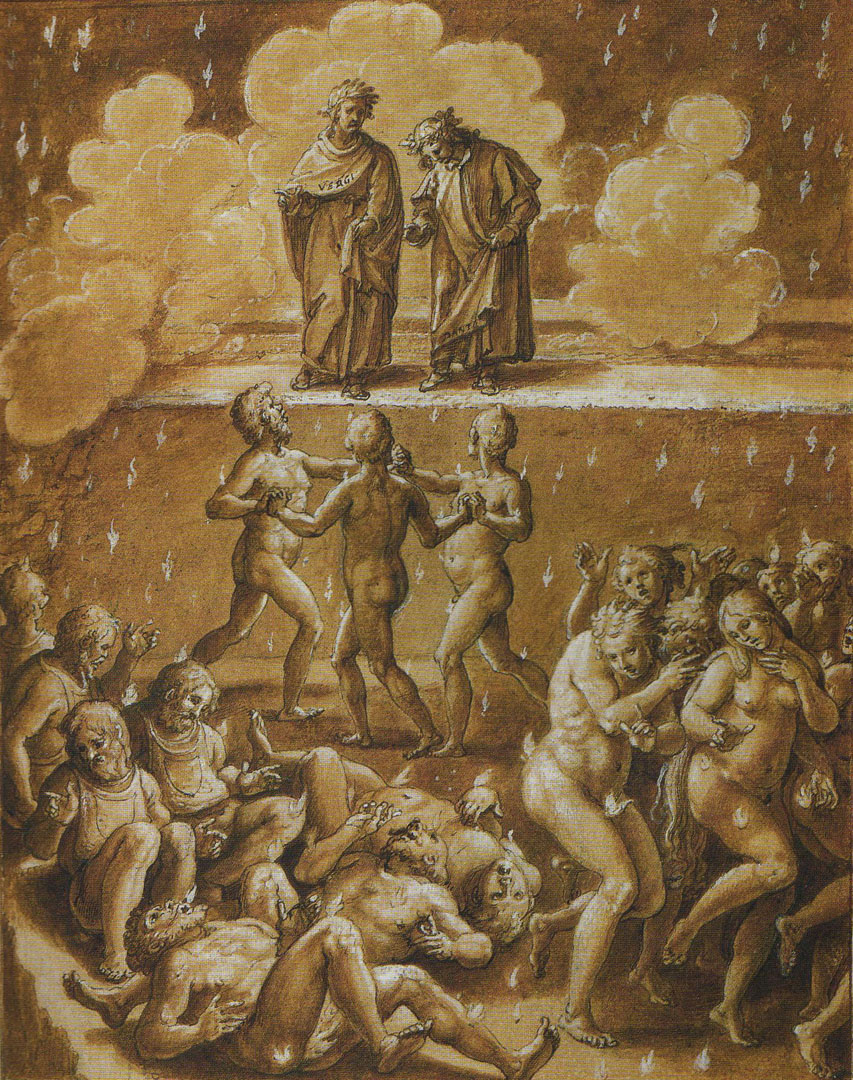 dante inferno canto 7 Divine comedy-i: inferno study guide contains a biography of dante alighieri,   hell is divided into seven circles, according to the seriousness of the sins  in  this canto, dante clearly expresses his anger at florence and his.