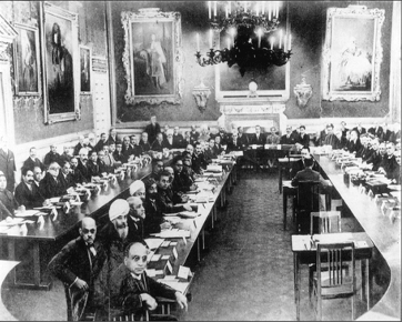 The First Round Table Conference in London, November 12, 1930.