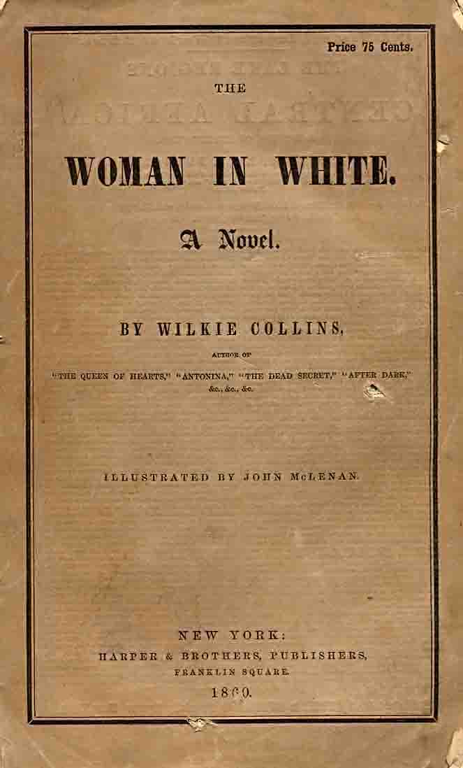 Front Cover for 'The Woman in White'