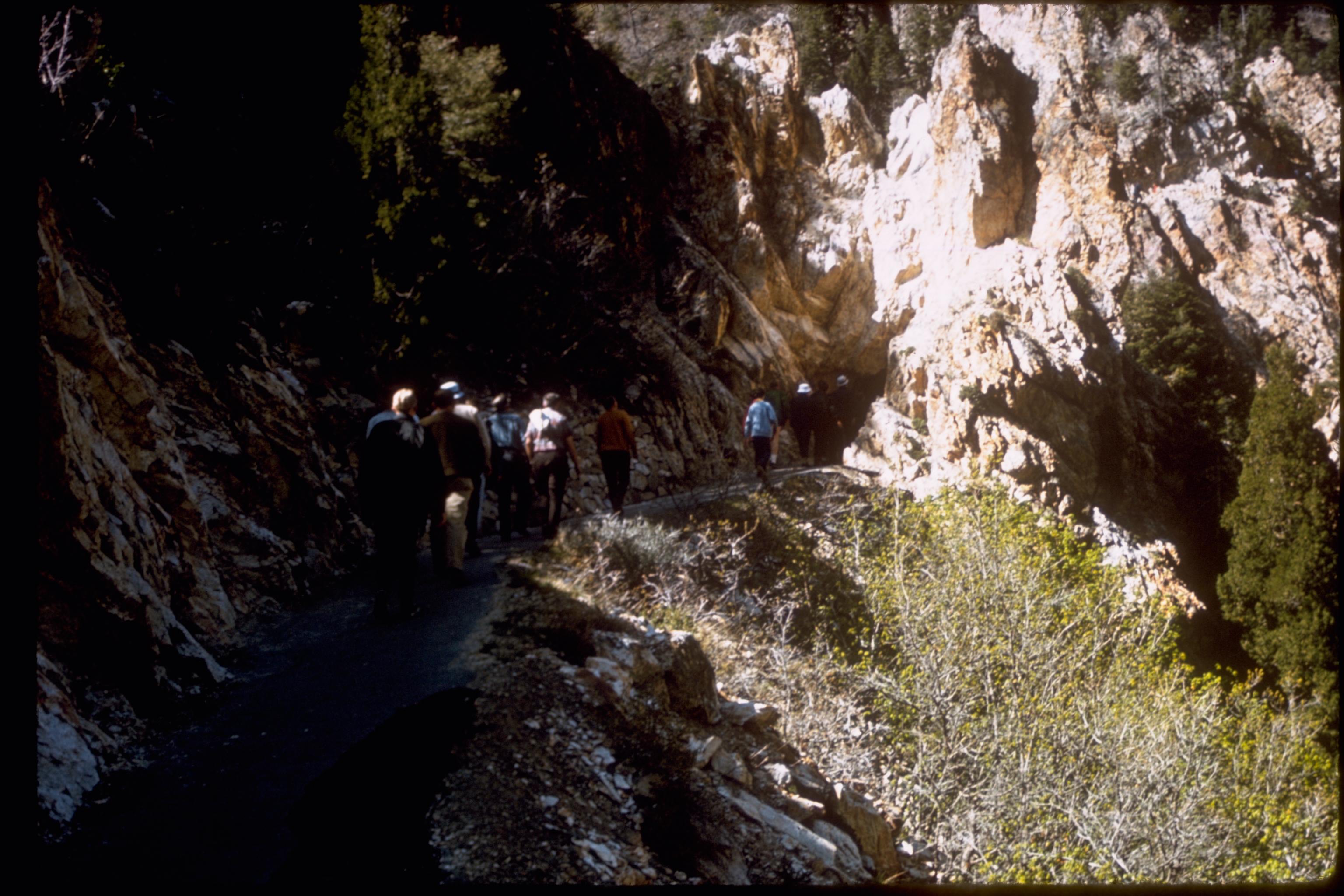 Timpanogos mountain cave