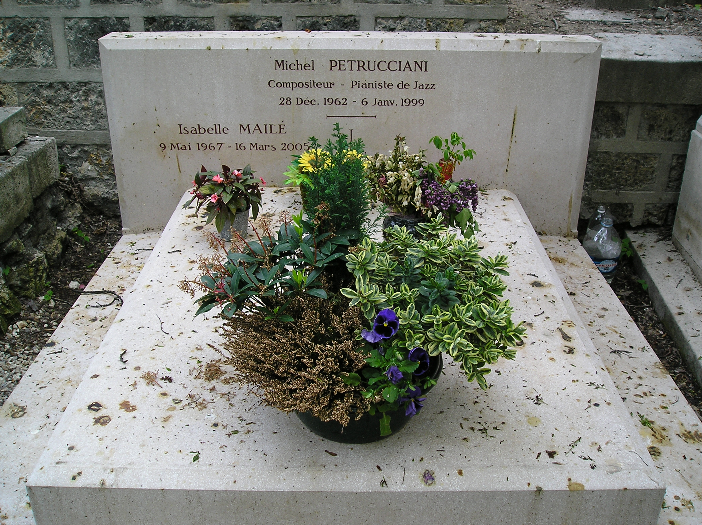 Grab von Michel Petrucciani