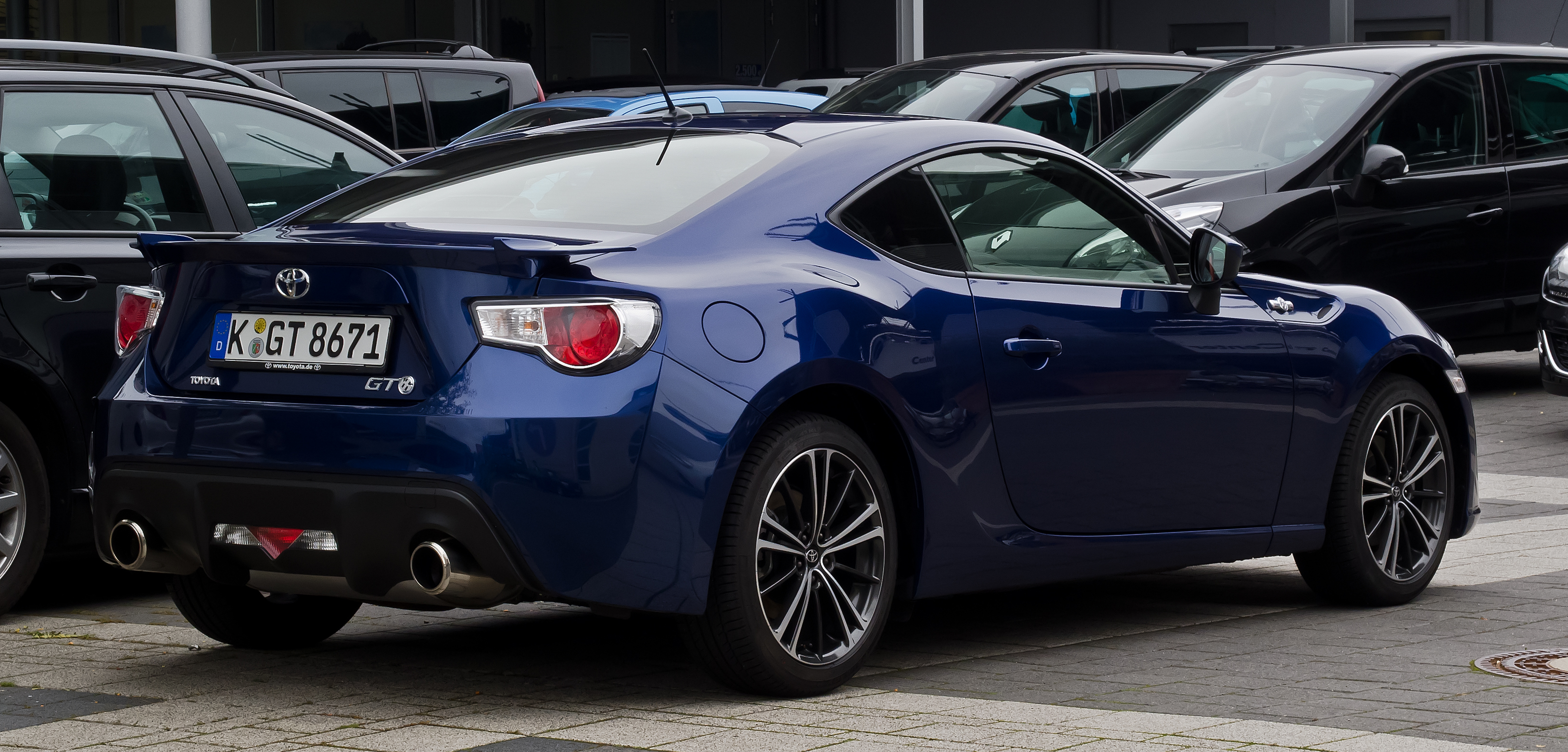 file toyota gt86 heckansicht 1 17 september 2012 d wikimedia commons. Black Bedroom Furniture Sets. Home Design Ideas