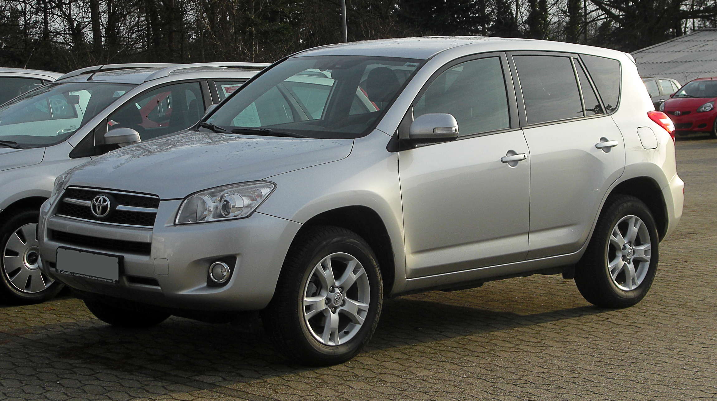 File Toyota Rav4 Iii Facelift Frontansicht 13