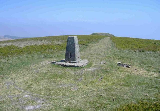 Trig point, Twmbarlwm - geograph.org.uk - 422774