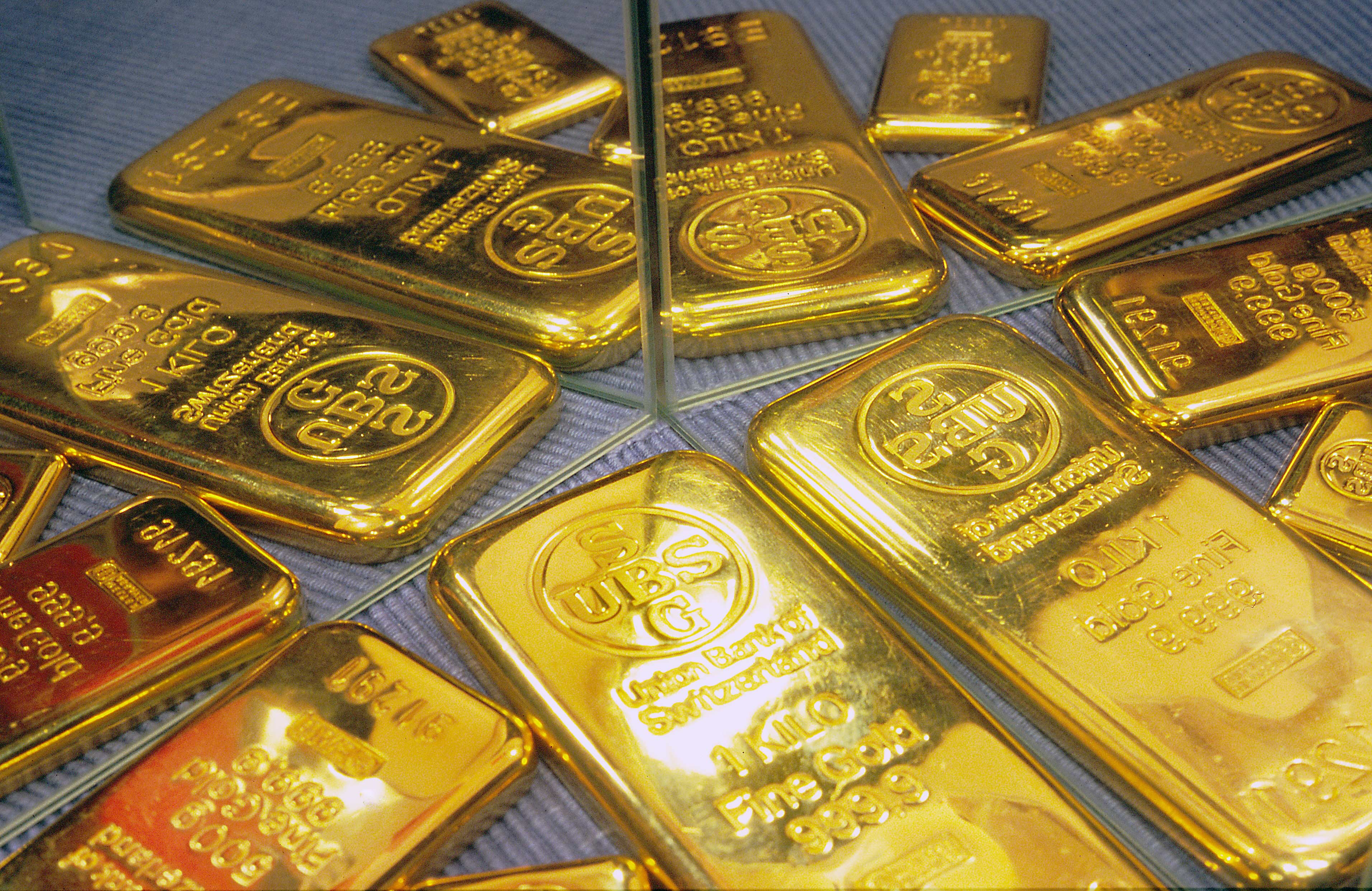 File Ubs Gold Bars With Mirrors Jpg